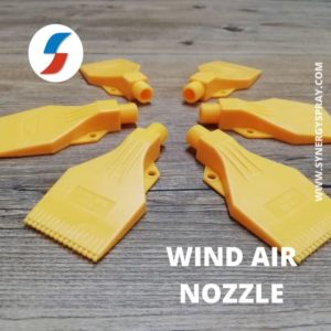 wind jet nozzle synergy spray system