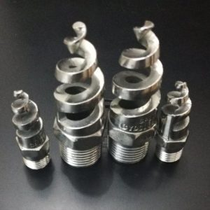 Spiral nozzle full cone